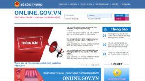 Hướng dẫn đăng ký website khách sạn, du lịch với bộ công thương