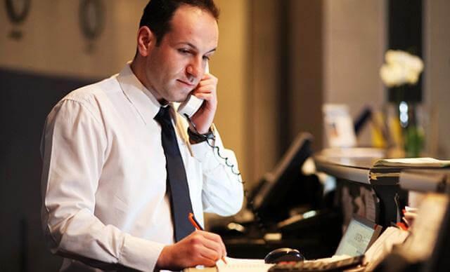 Quy trình làm việc tiêu chuẩn cho nhân viên đặt phòng khách sạn